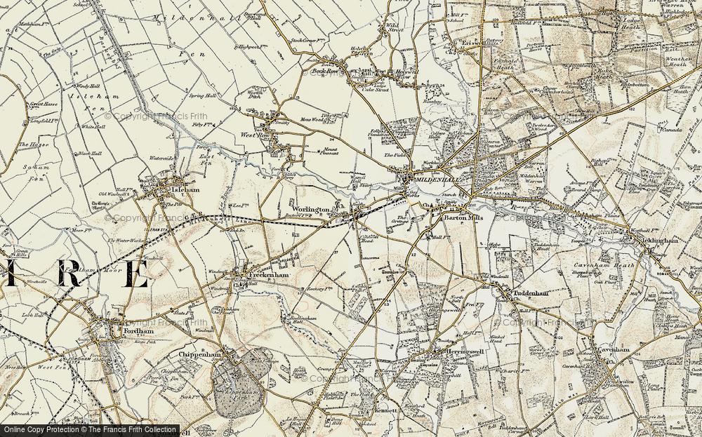 Worlington, 1901
