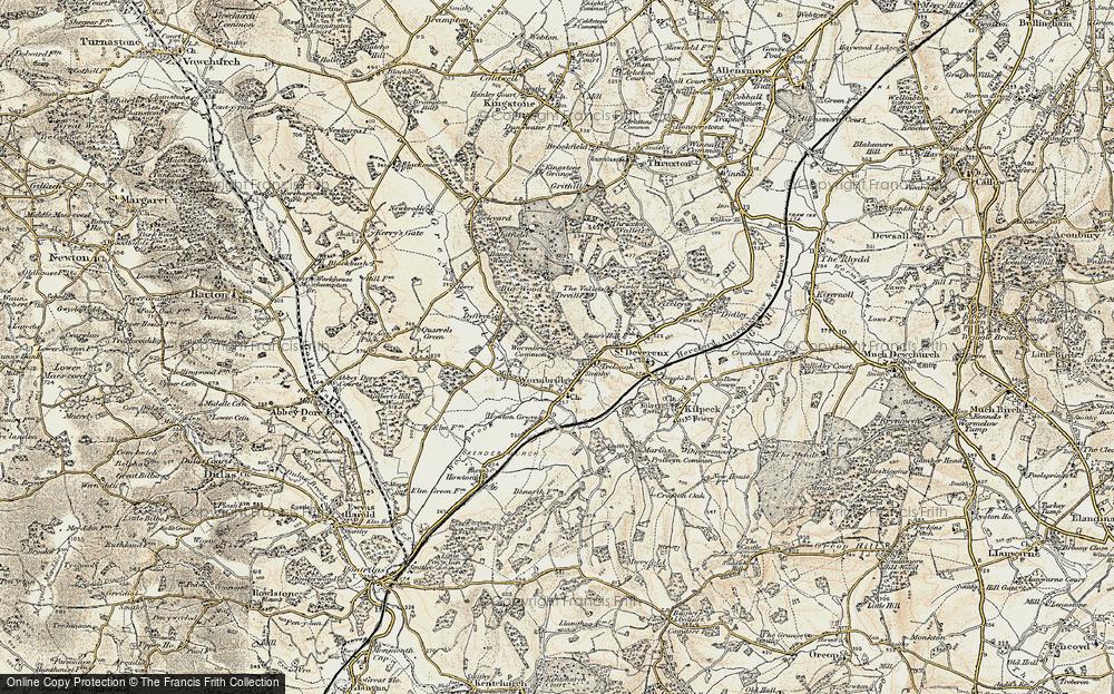 Wormbridge Common, 1900
