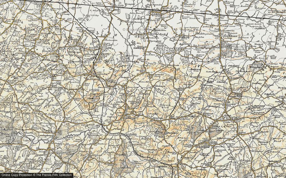 Worms Hill, 1897-1898