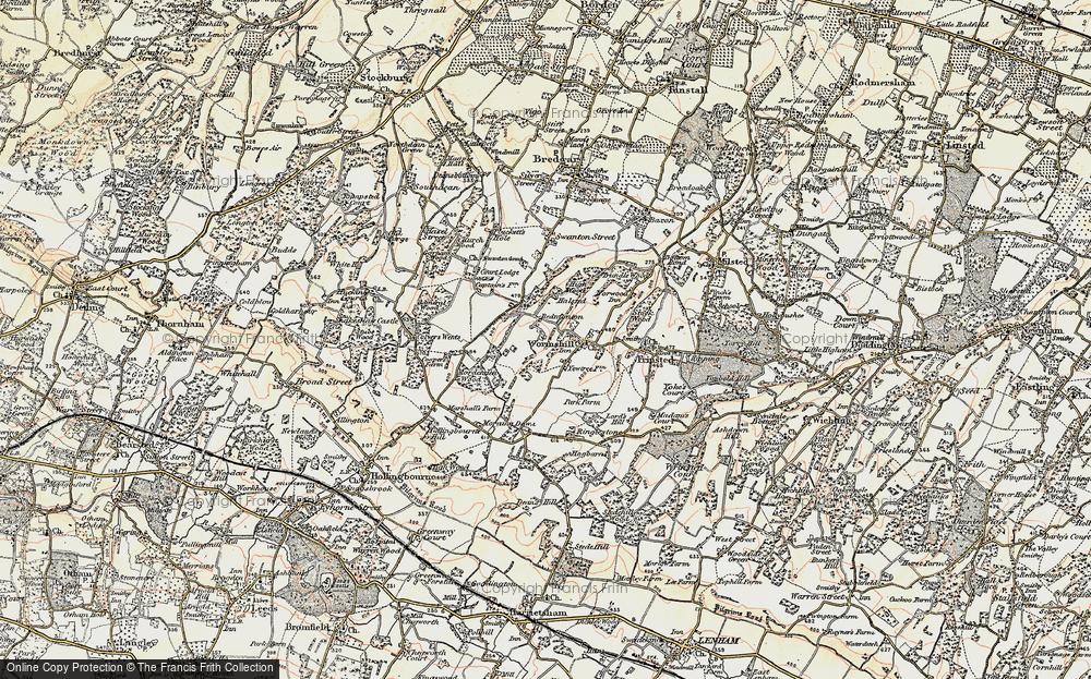 Wormshill, 1897-1898