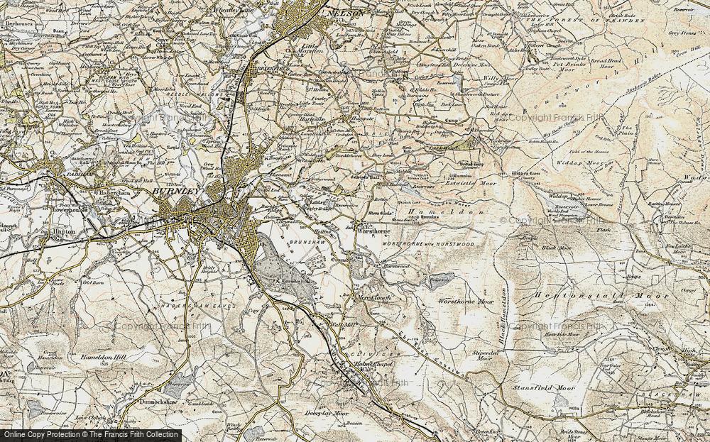 Worsthorne, 1903