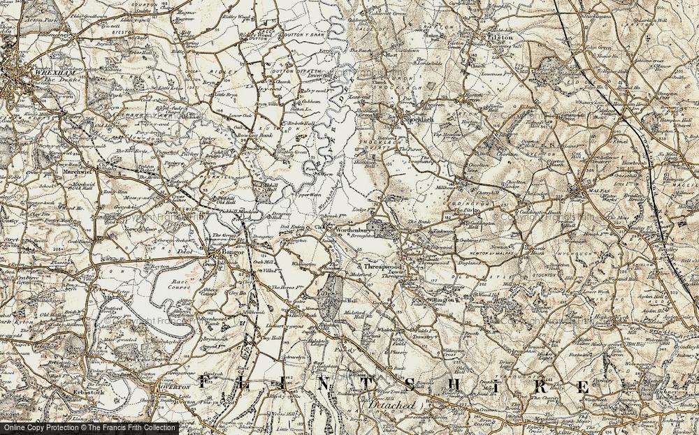 Worthenbury, 1902