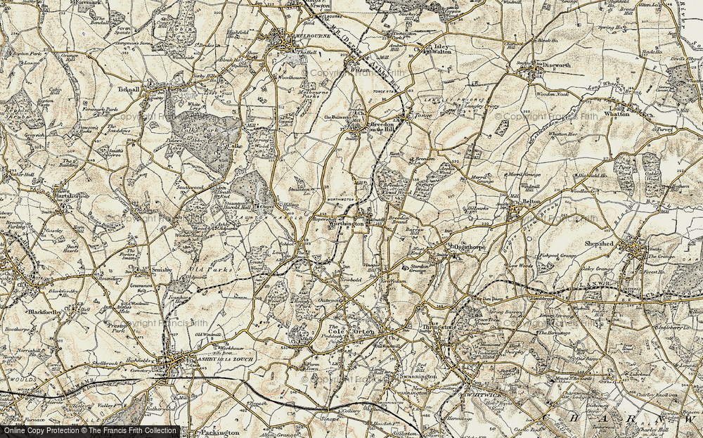 Old Map of Worthington, 1902-1903 in 1902-1903
