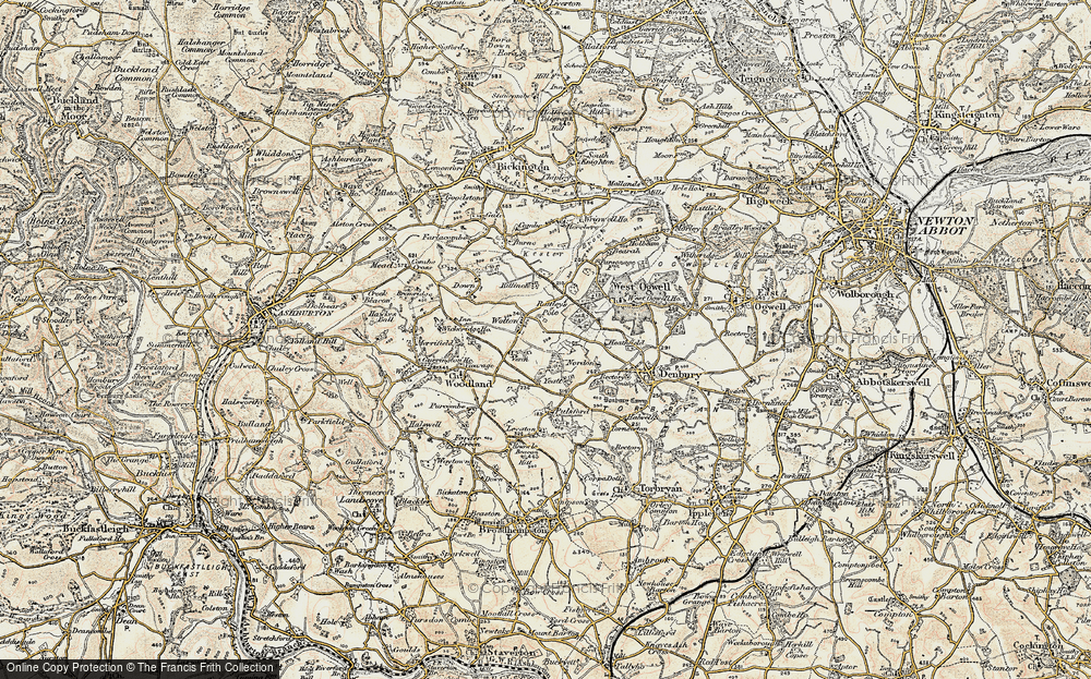 Wotton Cross, 1899