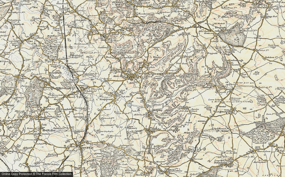 Wotton-under-Edge, 1898-1899