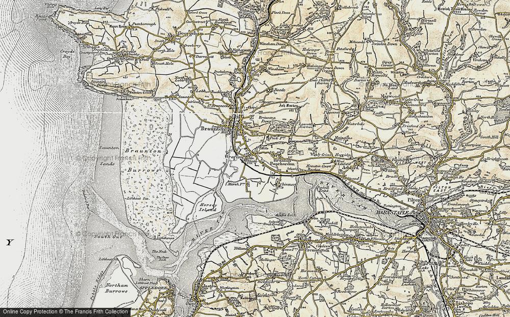 Wrafton, 1900