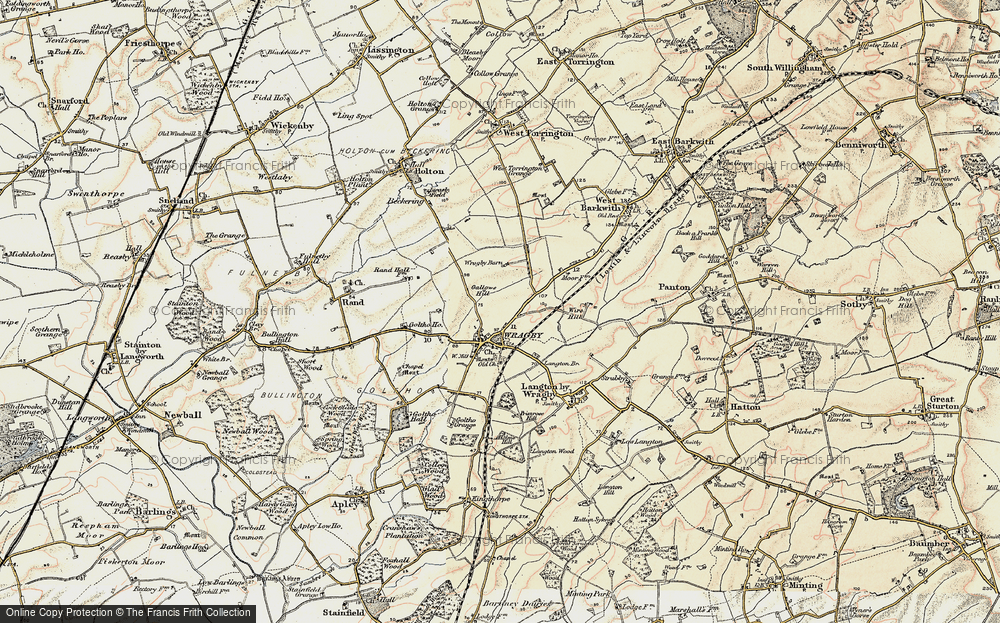 Wragby, 1902-1903