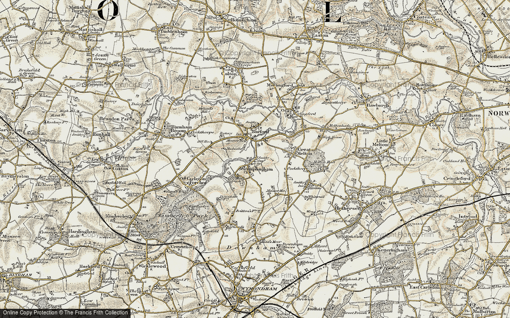 Wramplingham, 1901-1902
