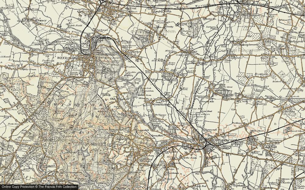 Wraysbury, 1897-1909