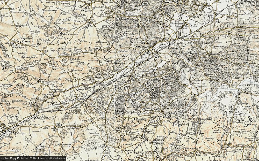 Wrecclesham, 1897-1909