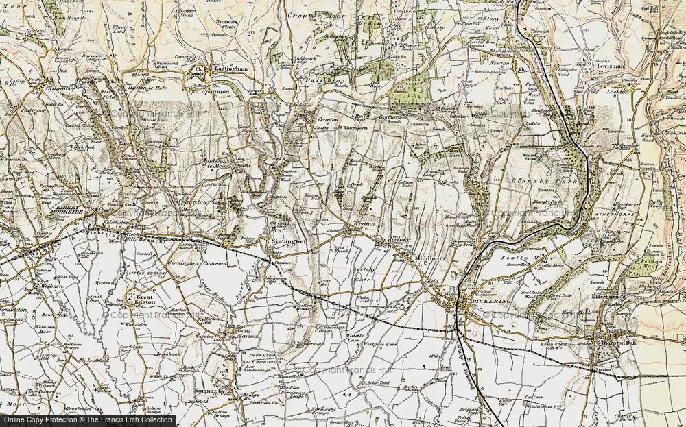 Wrelton, 1903-1904