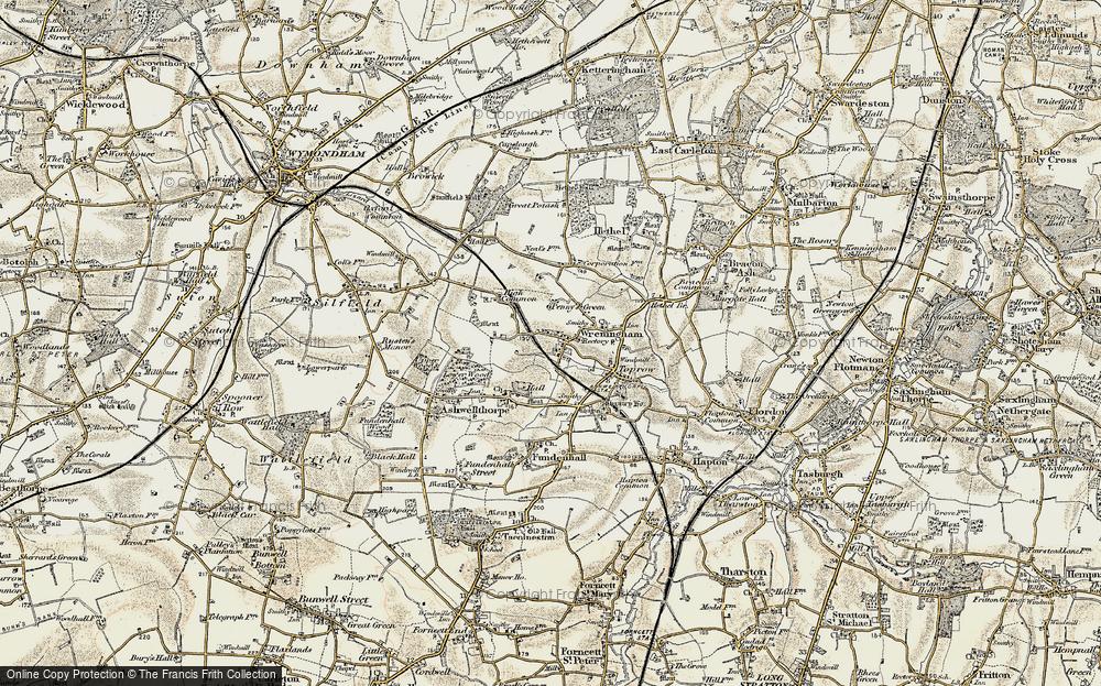 Wreningham, 1901-1902