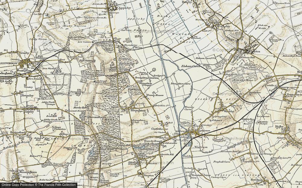 Wressle, 1903-1908