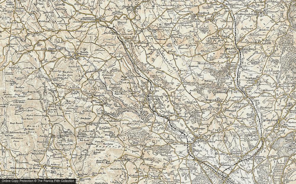 Wreyland, 1899-1900