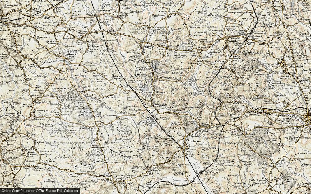 Wrinehill, 1902