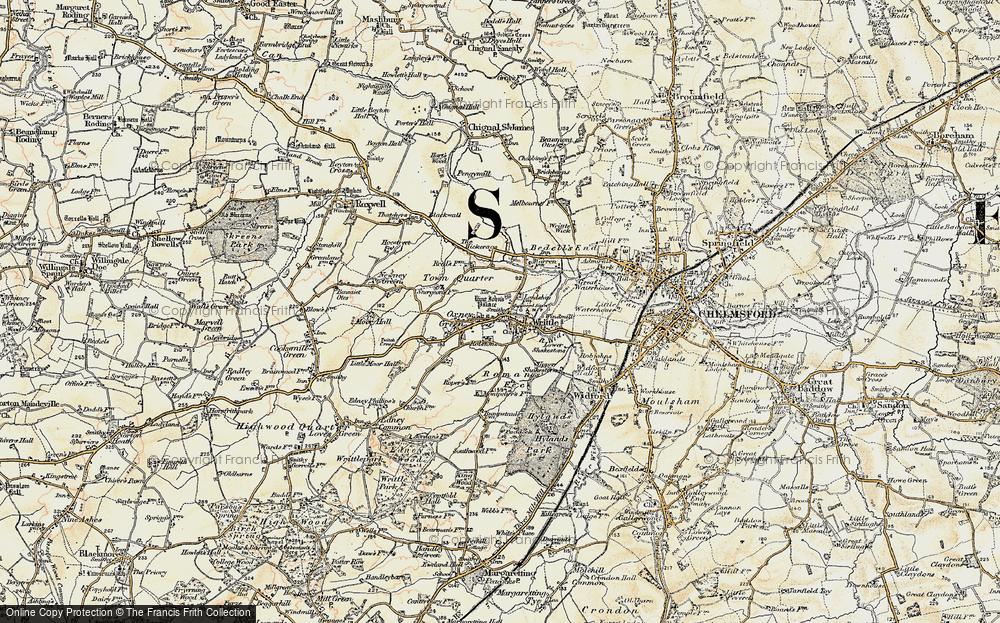 Writtle, 1898
