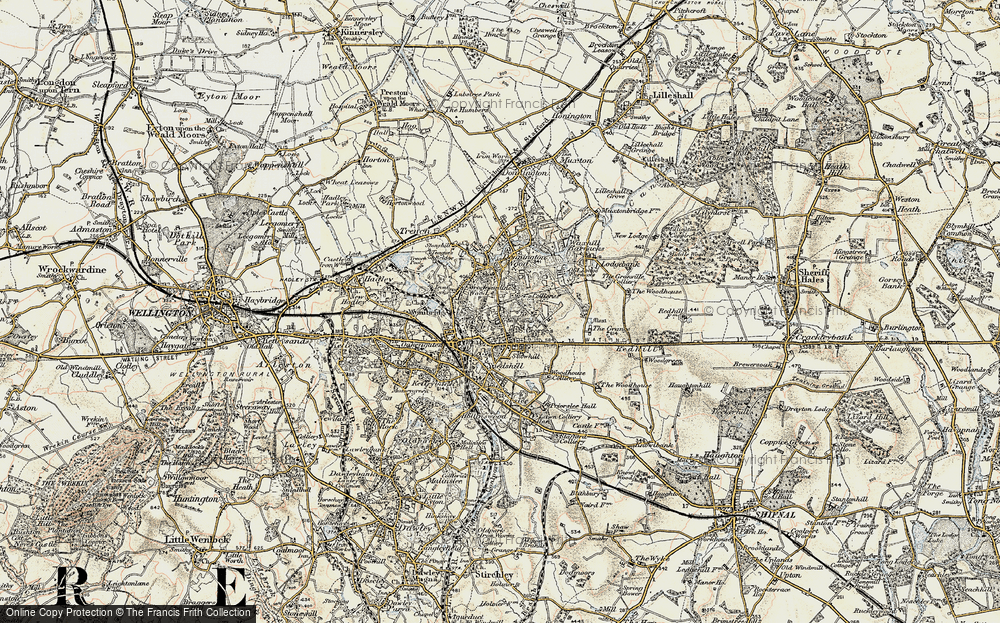 Wrockwardine Wood, 1902