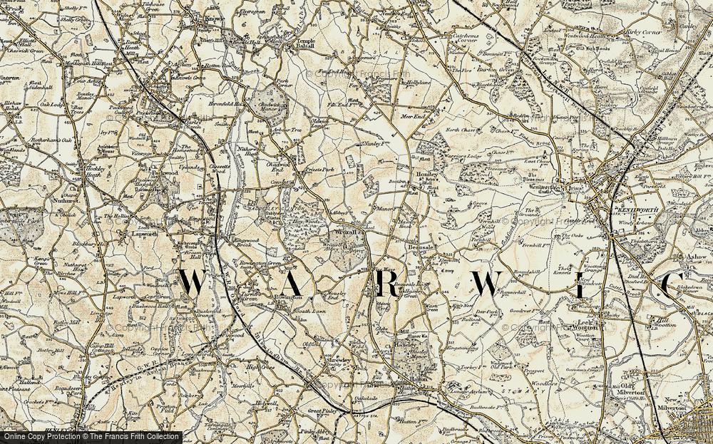 Wroxall, 1901-1902