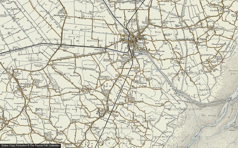 Wyberton, 1901-1902