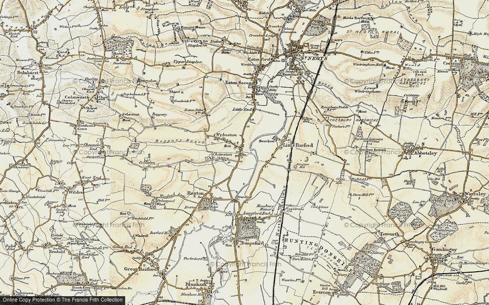 Wyboston, 1898-1901
