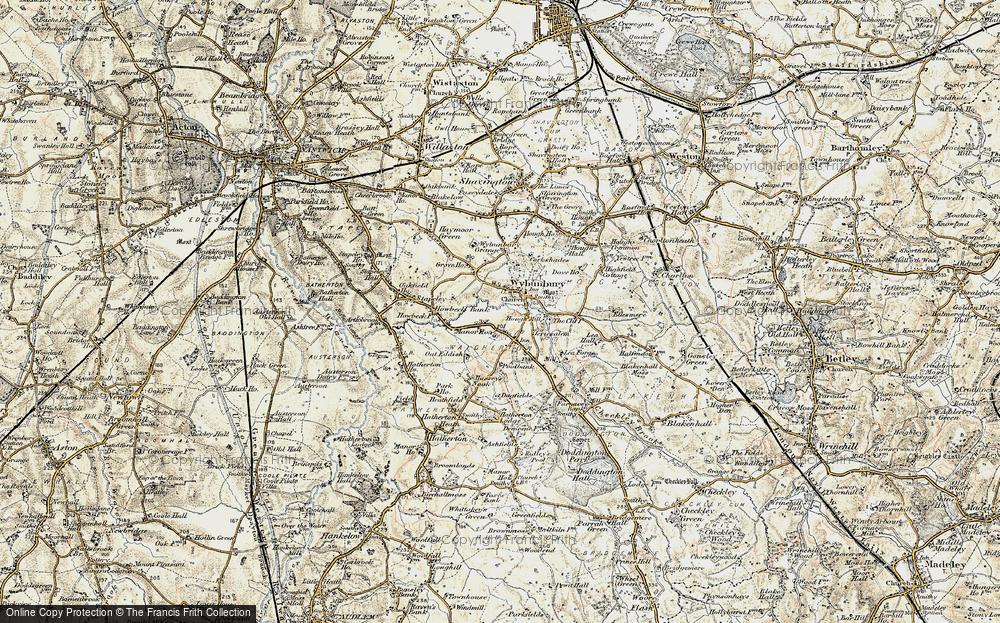 Wybunbury, 1902