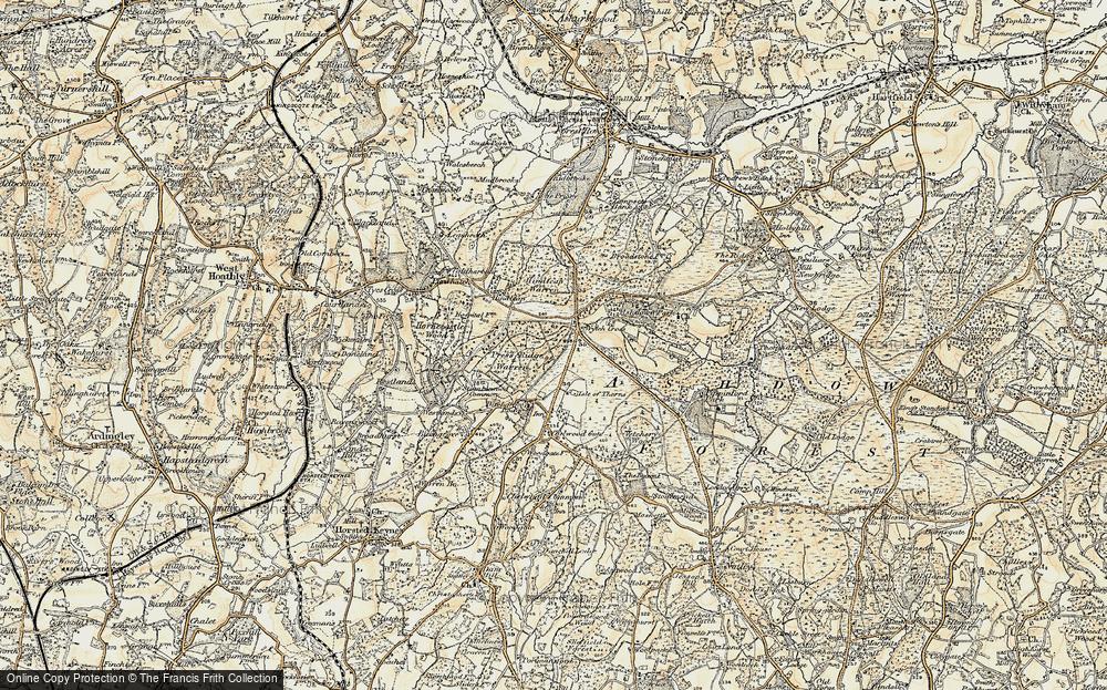 Wych Cross, 1898