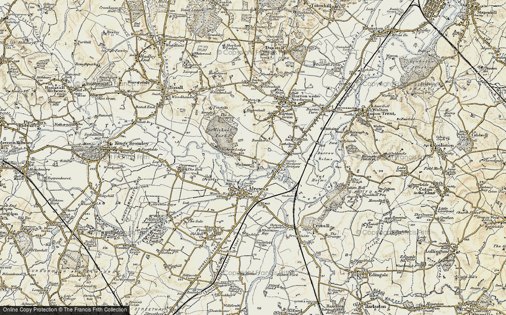 Wychnor, 1902