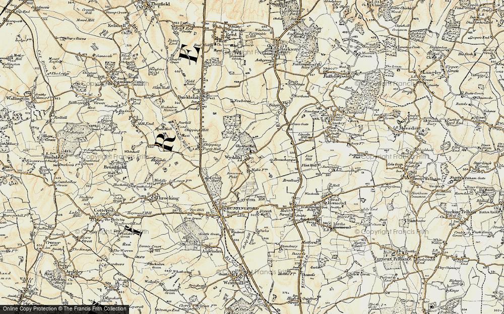 Wyddial, 1898-1899