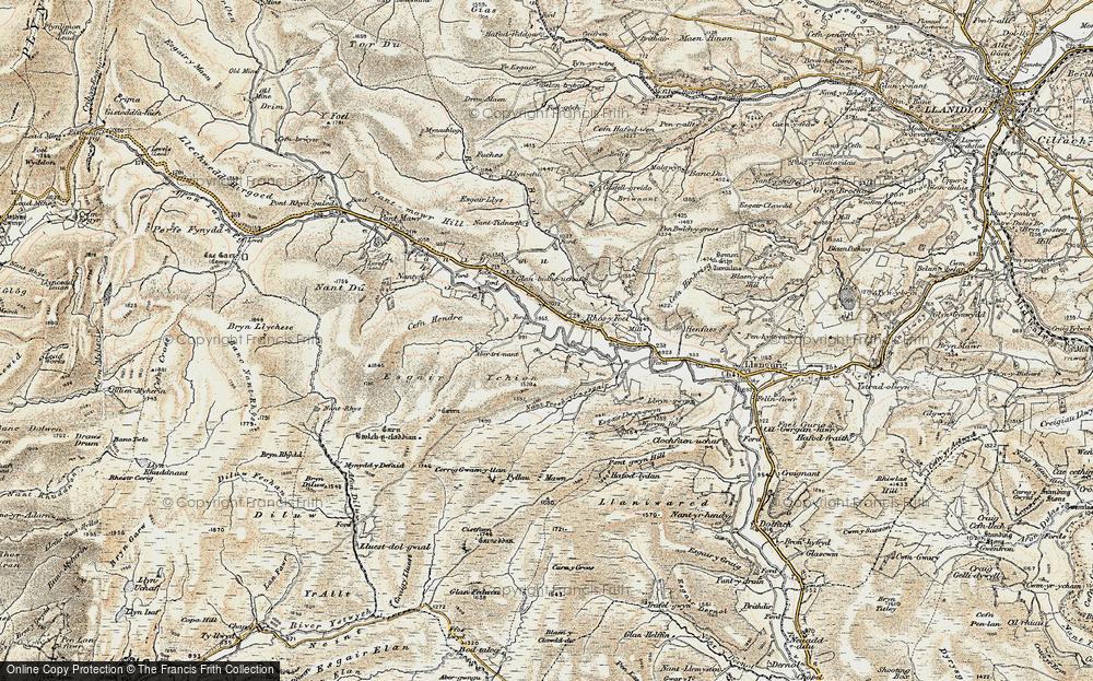Wye Valley, 1901-1903