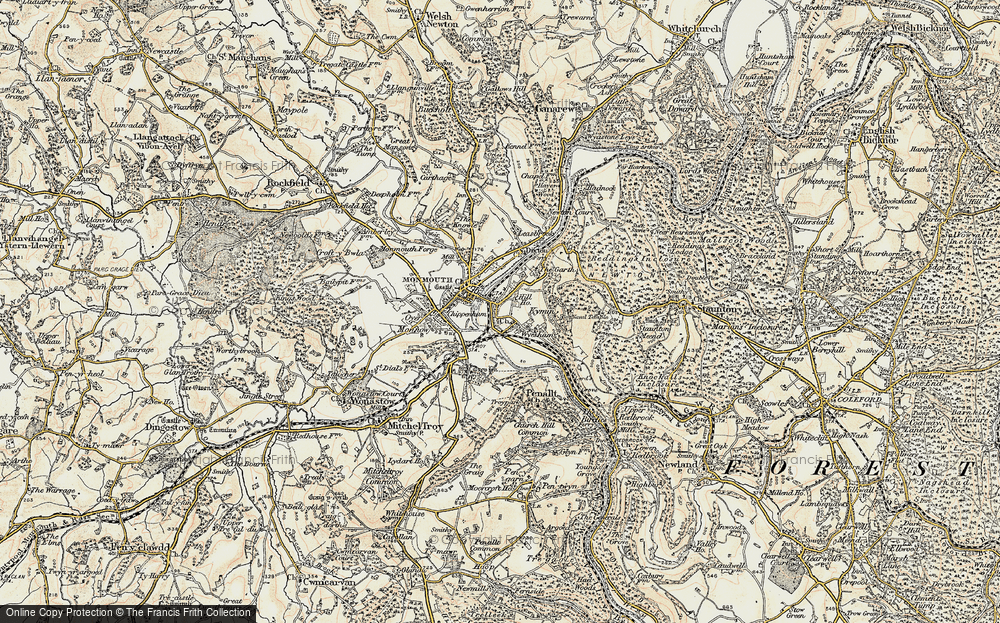 Wyesham, 1899-1900