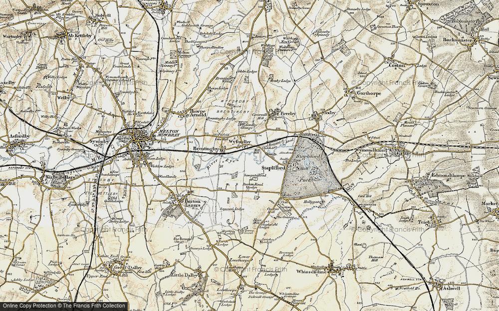 Wyfordby, 1901-1903