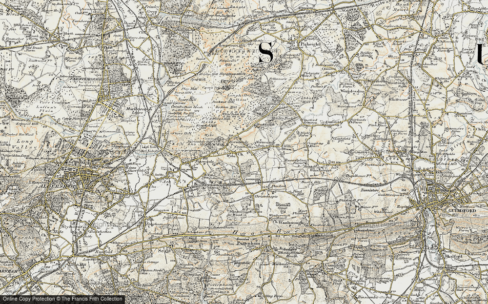 Old Map of Wyke, 1898-1909 in 1898-1909