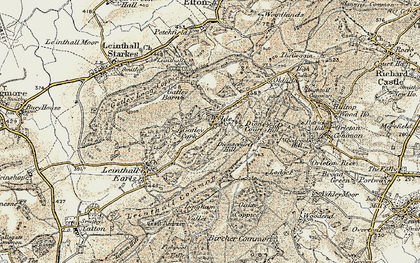 Old map of Wylde in 1901-1903