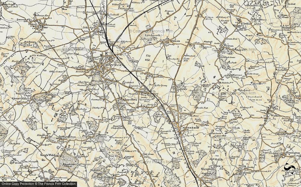 Wymondley Bury, 1898-1899