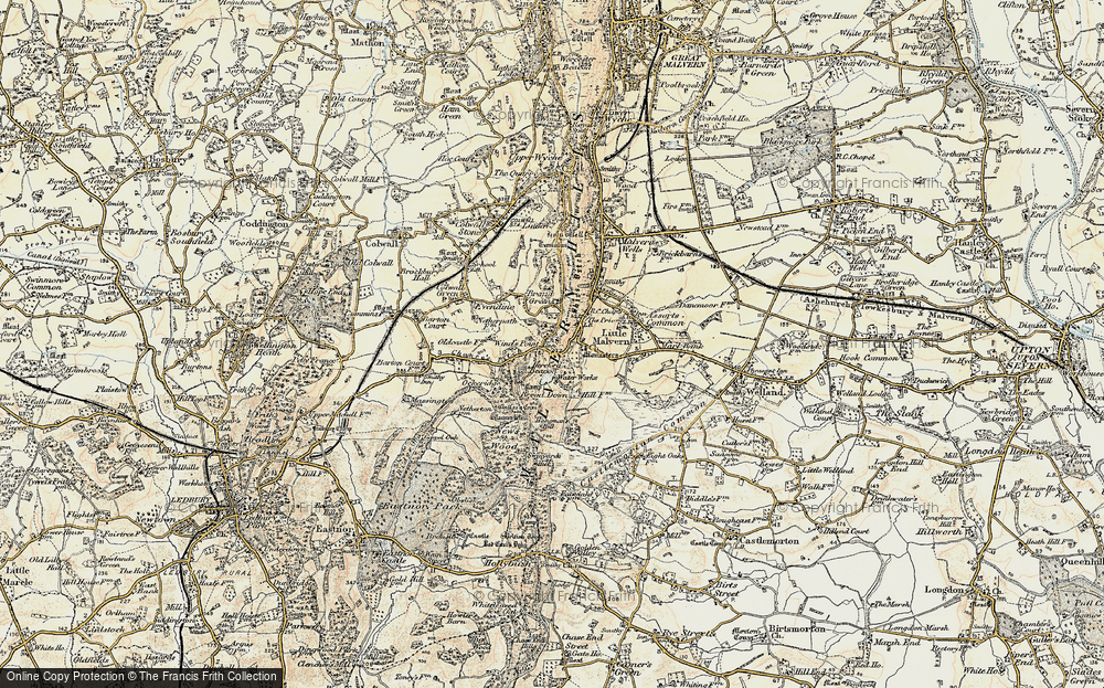 Old Map of Wynds Point, 1899-1901 in 1899-1901