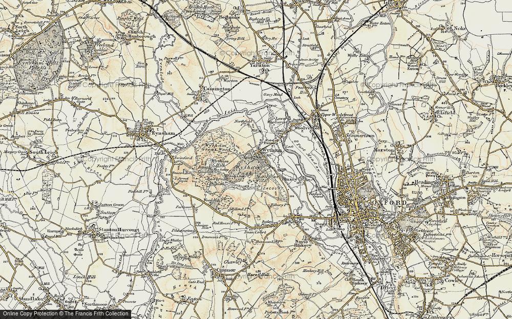 Wytham, 1898-1899