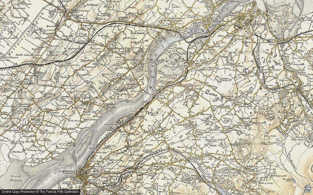 Y Felinheli, 1903-1910