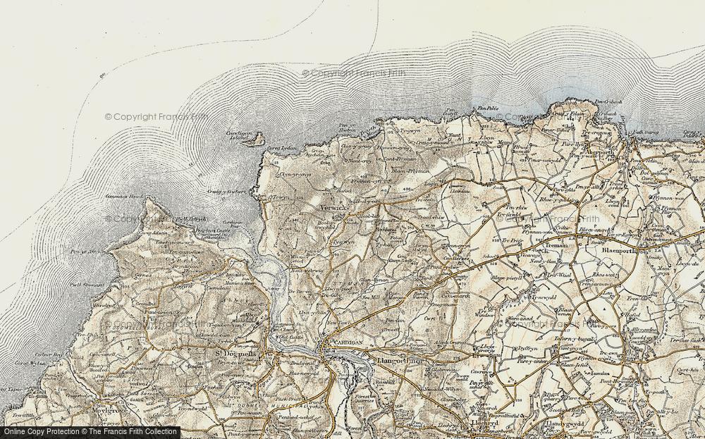 Y Ferwig, 1901