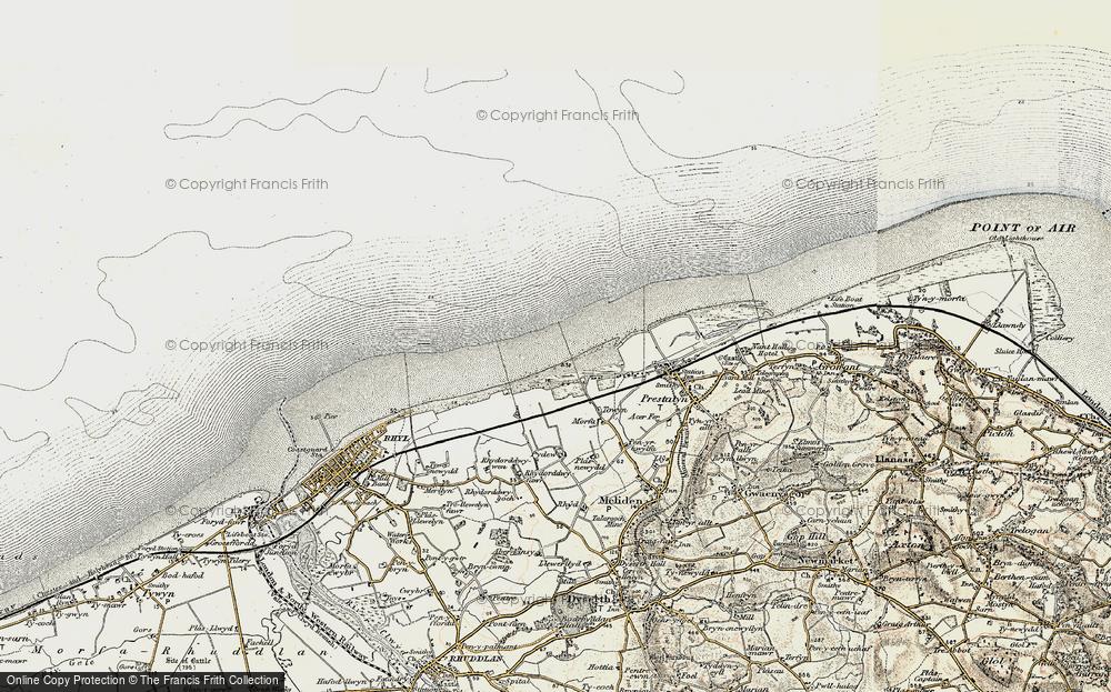 y-Ffrith, 1902-1903
