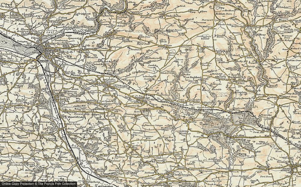 Yarnacott, 1900