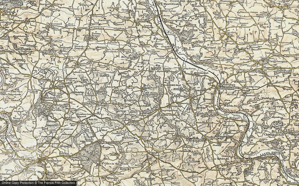 Yarnscombe, 1899-1900