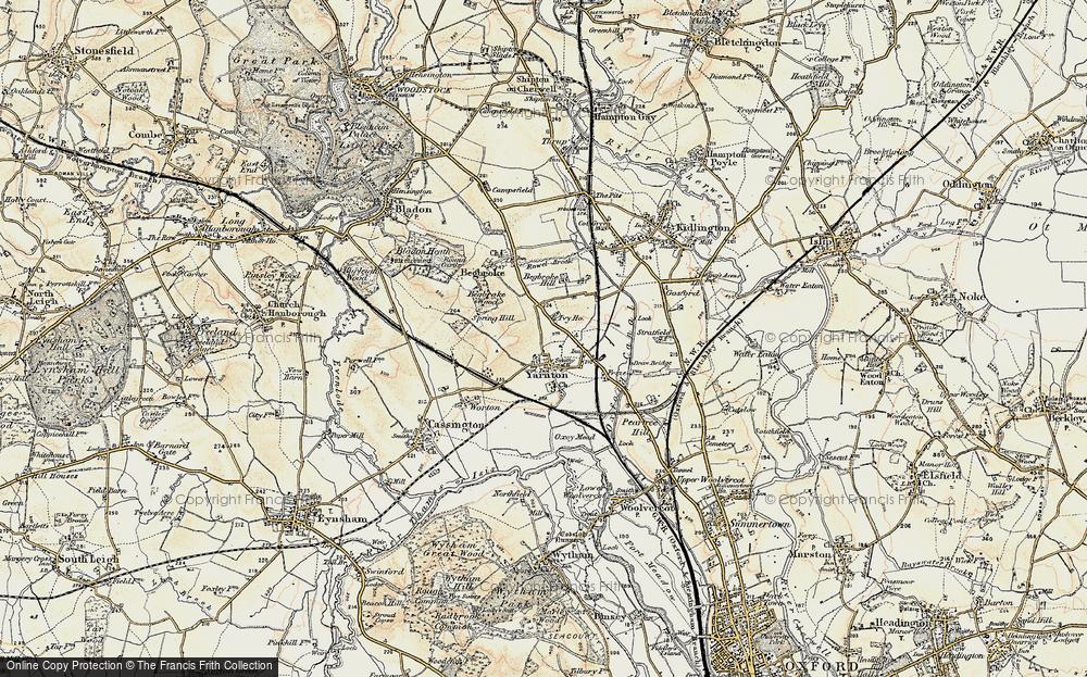 Yarnton, 1898-1899