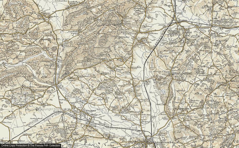 Yarpole, 1900-1903