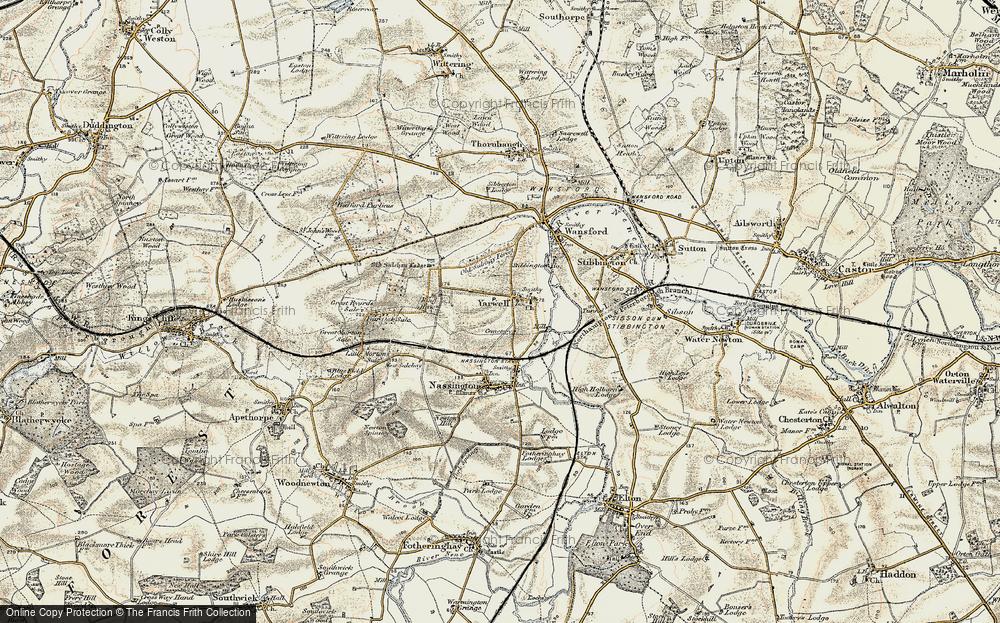 Yarwell, 1901-1903