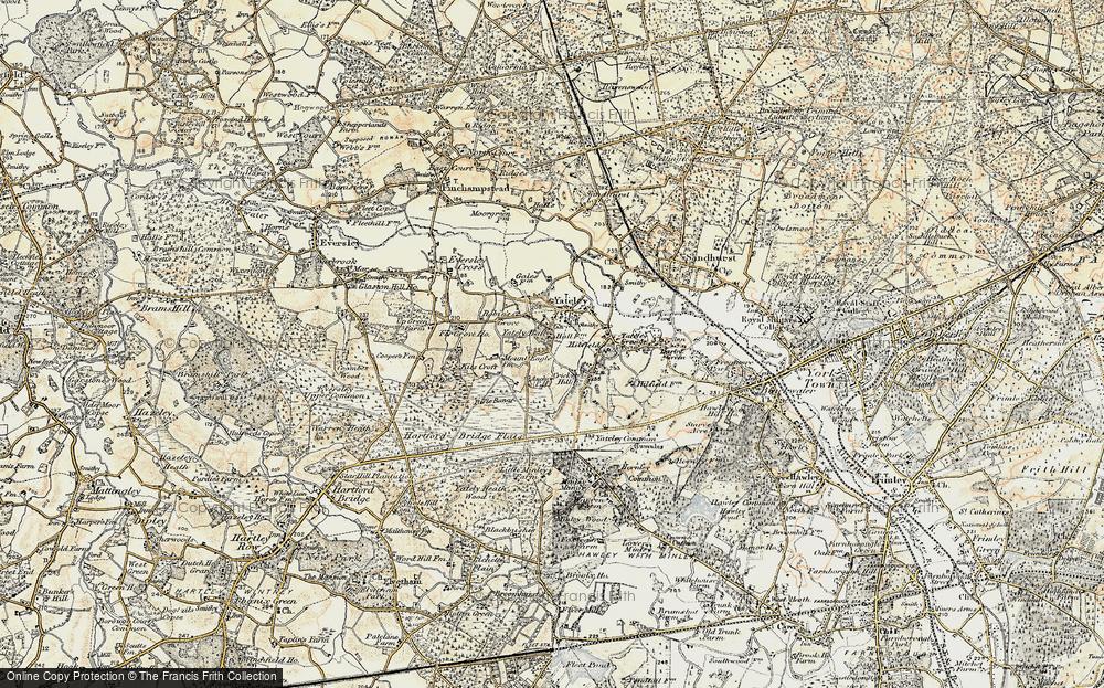 Yateley, 1897-1909