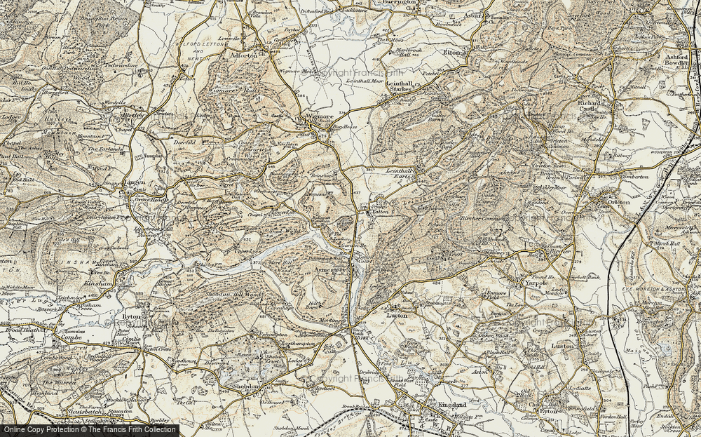 Old Map of Yatton, 1901-1903 in 1901-1903