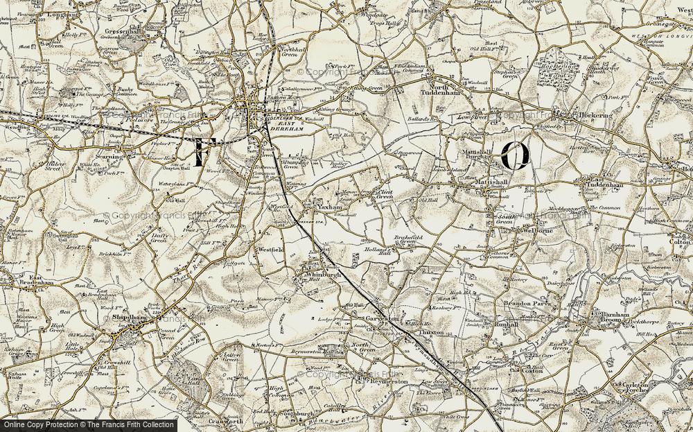 Yaxham, 1901-1902