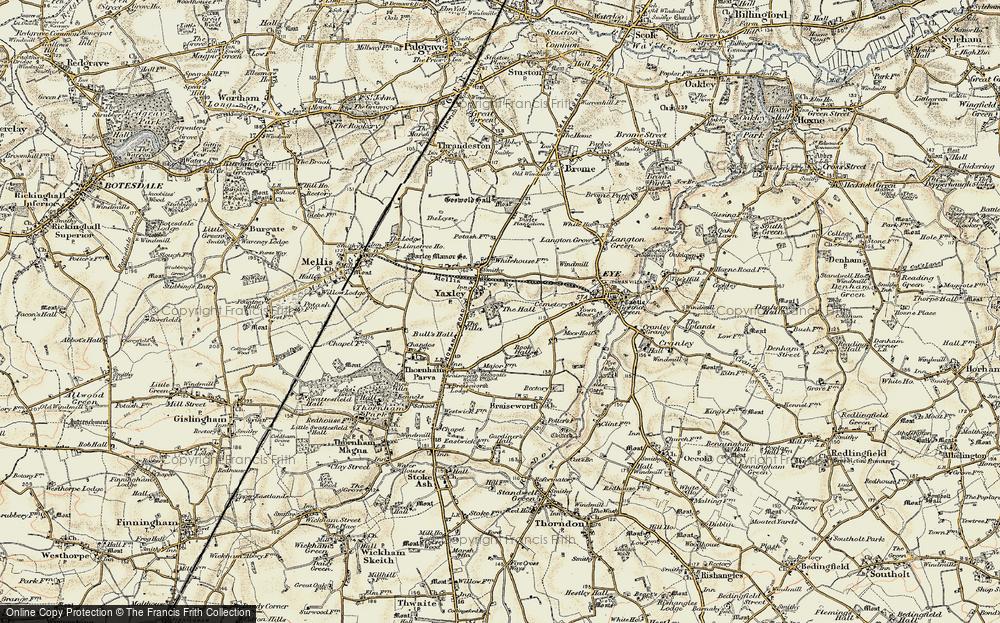 Yaxley, 1901