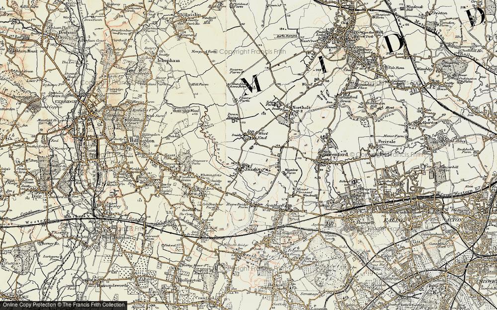 Yeading, 1897-1909