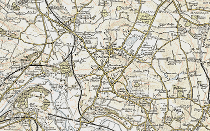 Old map of Yeadon in 1903-1904